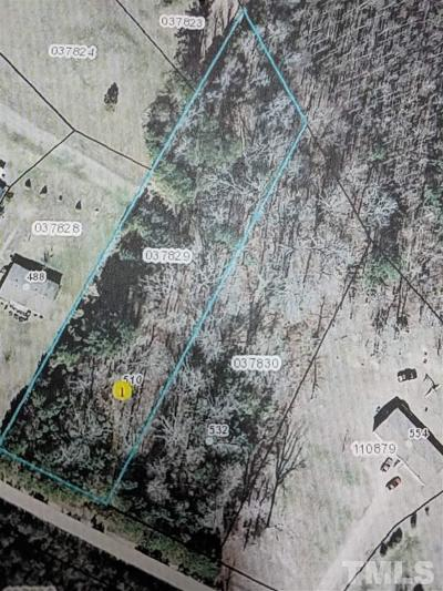 Spring Hope Residential Lots & Land Pending: 510 Gold Valley Road