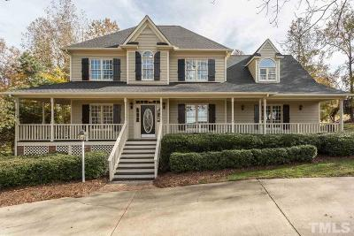 Clayton Single Family Home For Sale: 603 Birkdale Drive