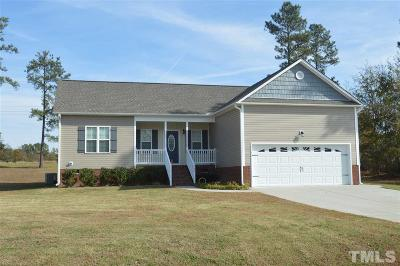 Harnett County Single Family Home For Sale: 395 Moonlight Drive