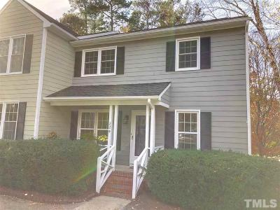 Raleigh, Cary Townhouse For Sale: 224 Bracken Court
