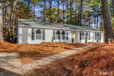 Raleigh Single Family Home For Sale: 5218 Duraleigh Road