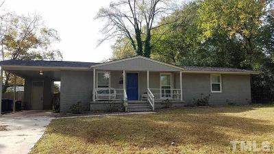 Raleigh Single Family Home For Sale: 1004 Caspan Street