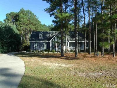 Harnett County Single Family Home For Sale: 175 Hamilton Mill Road