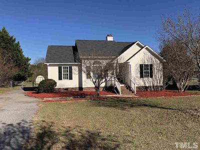 Wendell Single Family Home For Sale: 115 Seminole Drive