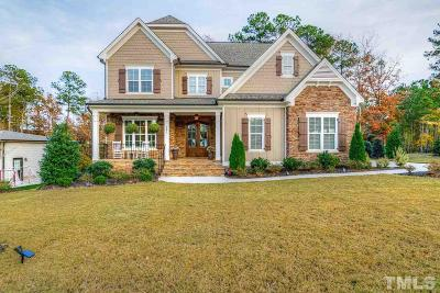 Holly Springs Single Family Home For Sale: 201 Honeyridge Lane