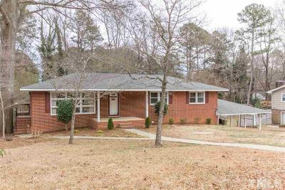 Raleigh Single Family Home For Sale: 4705 Forestdale Road