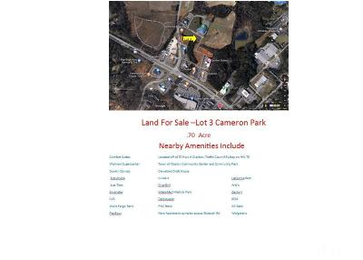 Johnston County Commercial Lots & Land For Sale: 1371 Cameron Way