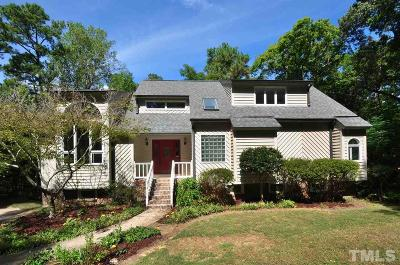 Pittsboro Single Family Home For Sale: 3 Crosswinds Estates Drive