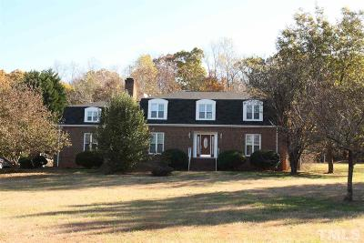 Durham County Single Family Home For Sale: 9810 Gallop Lane