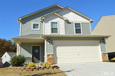 Fuquay Varina Single Family Home For Sale: 2503 Girvan Drive