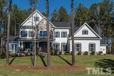 Wake County Single Family Home For Sale: 7505 Everton Way