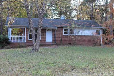 Durham County Single Family Home For Sale: 3636 Cheek Road