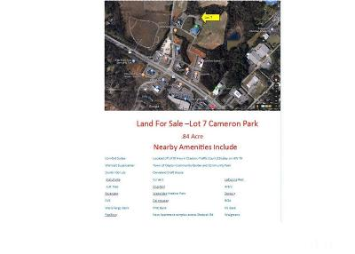 Johnston County Commercial Lots & Land For Sale: 1350 Mechanical Drive