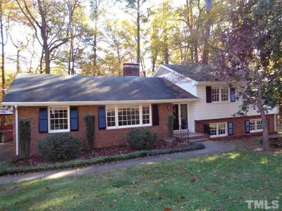 Wake County Single Family Home For Sale: 3200 Caldwell Drive