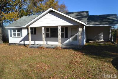 Norlina NC Single Family Home For Sale: $52,000