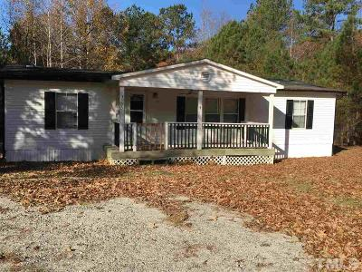 Johnston County Manufactured Home For Sale: 3853 Cornwallis Road