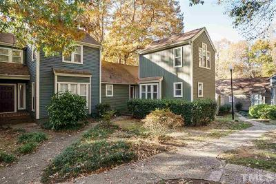 Raleigh Townhouse For Sale: 5903 Sentinel Drive