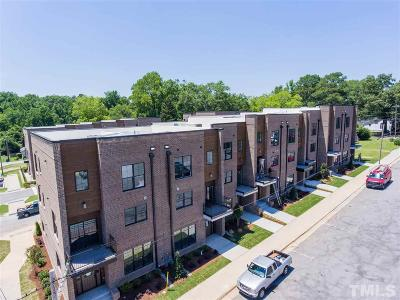 Wake County Townhouse For Sale: 282 Spring Avenue