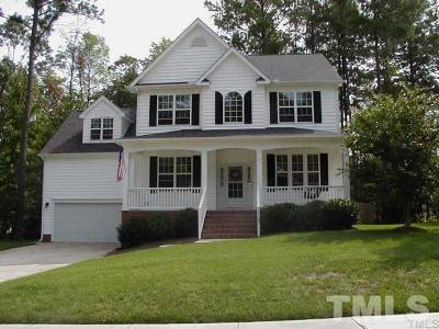 Apex Single Family Home For Sale: 3110 Cregler Drive