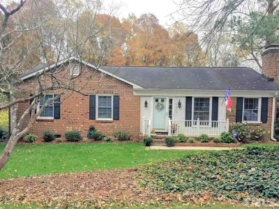 Wake County Single Family Home For Sale: 6008 Beardsley Court