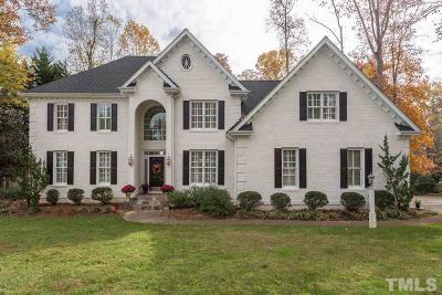 Holly Springs Single Family Home Contingent: 4701 Greenpoint Lane