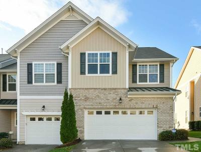 Raleigh Townhouse For Sale: 7241 Terregles Drive