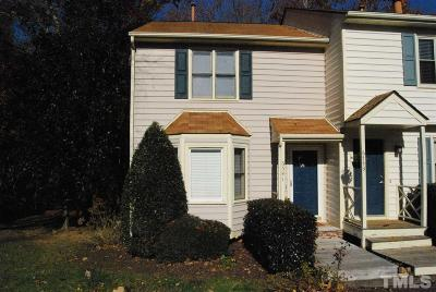 Raleigh NC Townhouse For Sale: $139,900