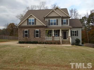 Clayton Single Family Home For Sale: 301 Bradshaw Way