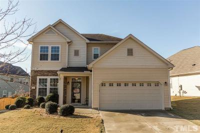 Fuquay Varina Single Family Home Contingent: 1328 Dairy Glen Drive
