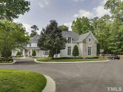 Raleigh NC Single Family Home For Sale: $1,499,000