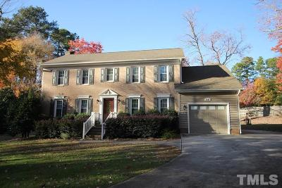 Wake County Single Family Home For Sale: 1608 Bowdoin Drive