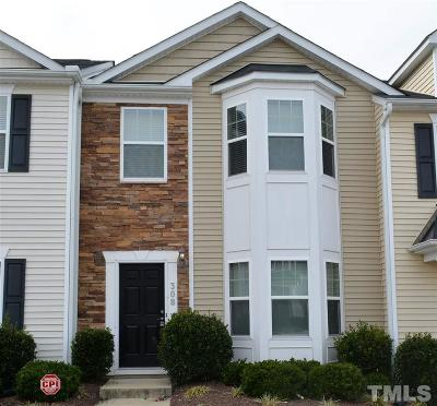 Durham Townhouse For Sale: 1304 Cozart Street #308