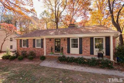 Wake County Single Family Home Contingent: 705 Macon Place