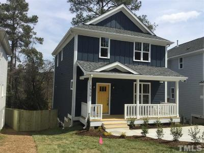 Raleigh Single Family Home For Sale: 1539 Battery Drive
