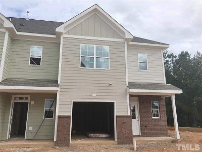 Wake Forest Townhouse For Sale: 921 Townes Park Street