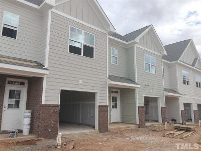 Wake Forest Townhouse For Sale: 917 Townes Park Street