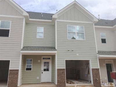 Wake Forest Townhouse Contingent: 913 Townes Park Street