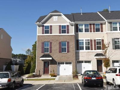 Cary Townhouse For Sale: 438 Berry Chase Way