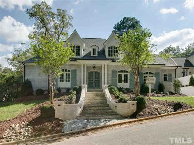 Raleigh Single Family Home For Sale: 2402 Lake Drive