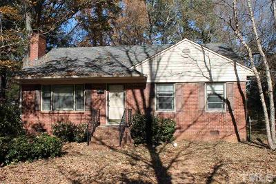 Cary Single Family Home Contingent: 204 Gray Street