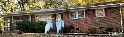 Sanford NC Single Family Home For Sale: $67,000