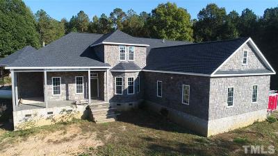 Angier Single Family Home For Sale: 464 Bluff Ridge Lane
