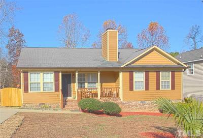 Holly Springs Single Family Home Contingent: 408 Teal Lake Drive