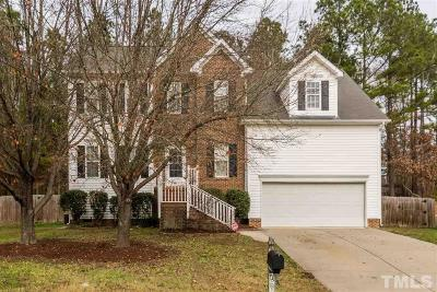Raleigh Single Family Home Contingent: 7904 Old Mill Ridge Court