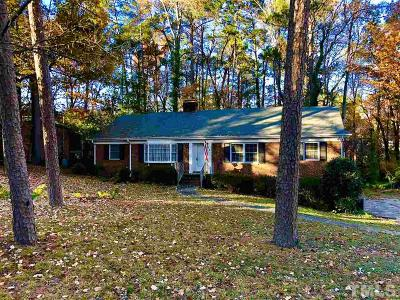 Raleigh Single Family Home For Sale: 3210 Hampton Road