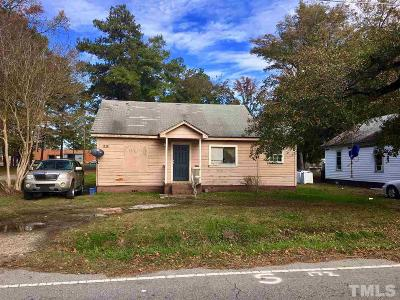 Angier Single Family Home Pending: 172 W Williams Street