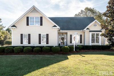 Fuquay Varina Single Family Home Contingent: 701 Powhatan Drive
