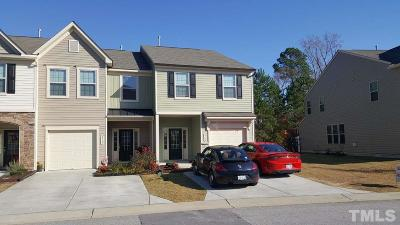 Raleigh Townhouse For Sale: 2119 Sunny Cove Drive