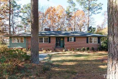 Durham Single Family Home For Sale: 3106 Dixon Road