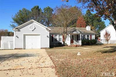 Apex Single Family Home For Sale: 1204 Canterbury Brook Lane